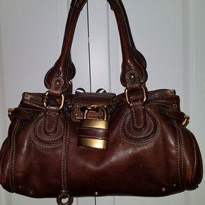 Chloe authentic Paddington handbag